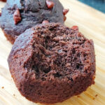 Ragi Banana Chocolate Muffins