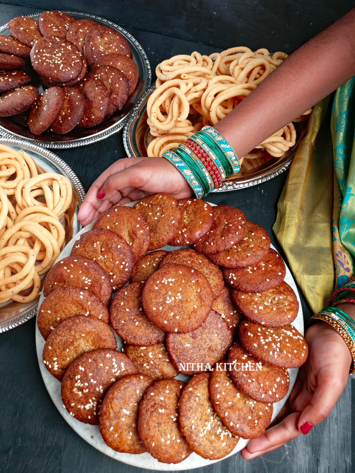 Diwali top pick Adhirasam or murukku from Nitha Kitchen