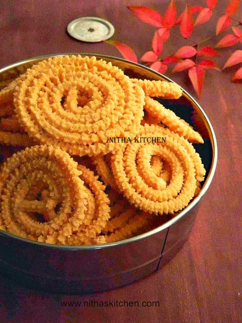 Thinai Murukku Quinoa Millet Chakli Recipe