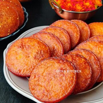 raw rice jaggery adhirasam recipe