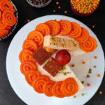 Diwali theme Eggless Rose Tres Leches with Mascarpone Cheese Frosting Video Recipe