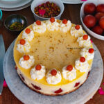 GULAB JAMUN CHEESECAKE FROM SCRATCH VIDEO RECIPE