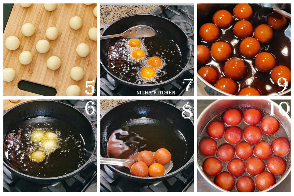 Step By Step Pictures of gulkand / rose petal spread Gulab Jamun Making