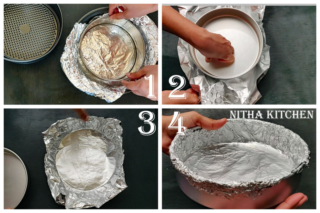how to bake cheesecake without springform pan, how to bake cheesecake in cake pan