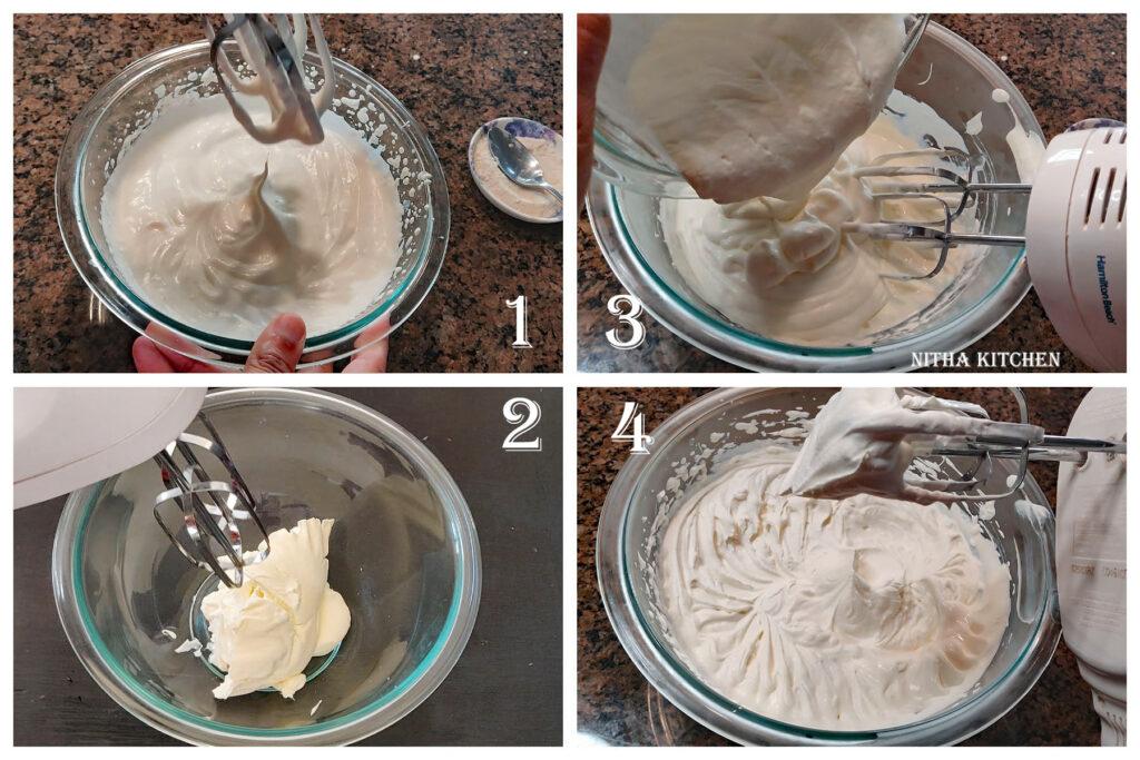 homemade mascarpone cheese whipped cream frosting recipe