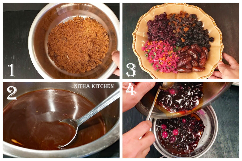 How to make Sugar syrup molasses using Brown sugar, Brown sugar caramel for cakes and bakes
