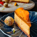 Eggless Mango Cheesecake Video Recipe