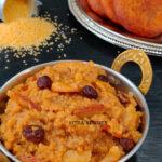 thinai sweet pongal millet sweet pongal sakkarai pongal chakara pongali in instant pot