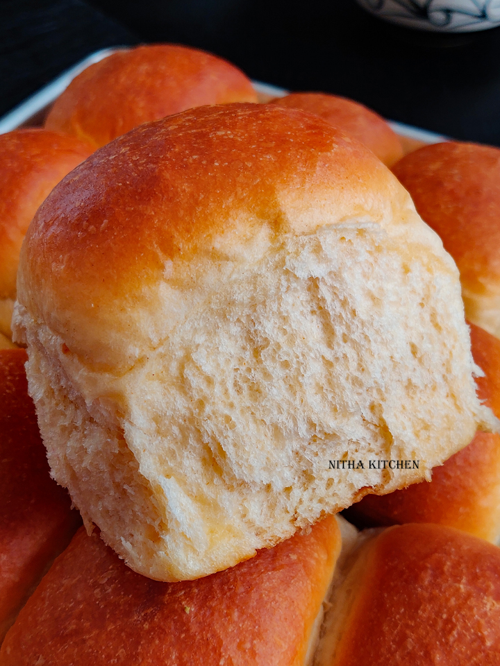 Eggless Ladi Pav Recipe From Scratch Video Recipe Soft Dinner rolls light and feathery hand kneaded rolls from scratch