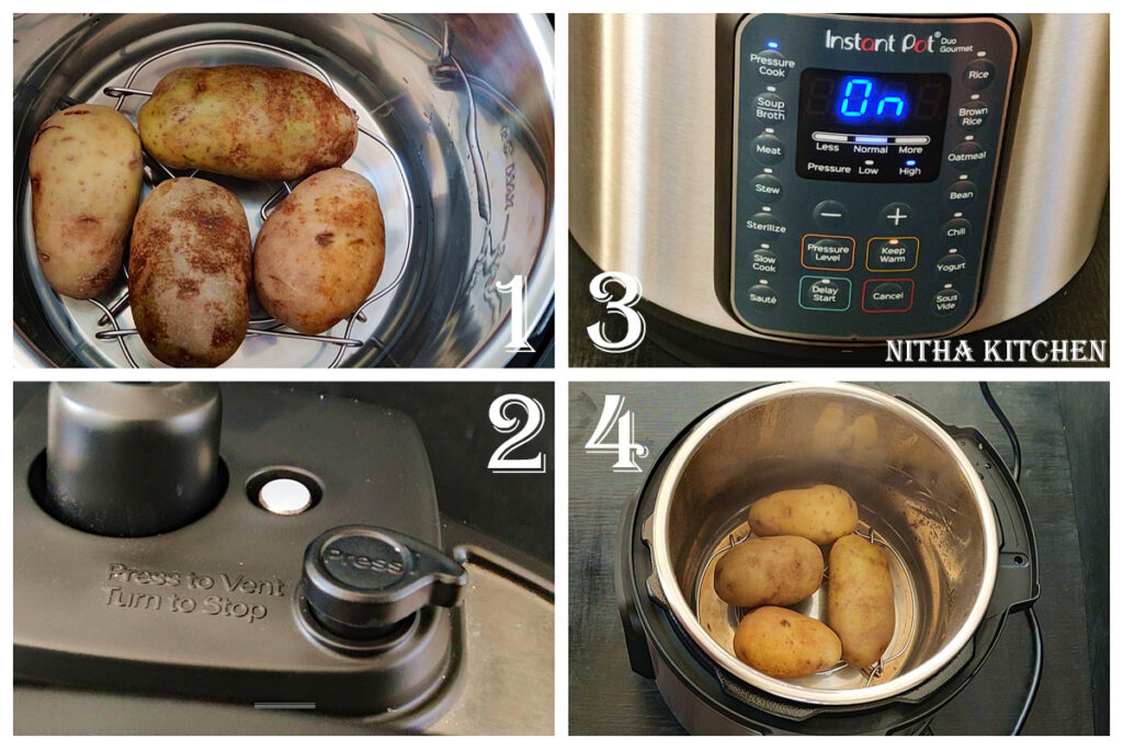 how to cook potatoes in instant pot duo gourmet