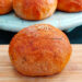 chicken stuffed buns with bread and wheat flour combo